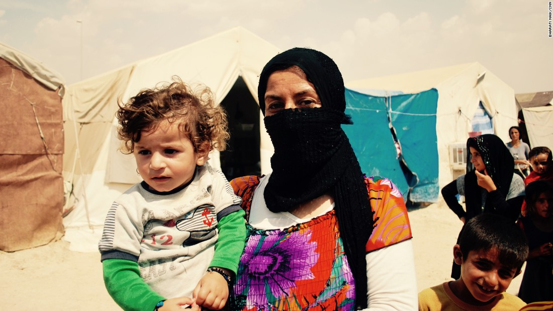 Gule Rasho, 23, and her son Rami, 11 months, also escaped from Siba Shekh Khidir.<br />