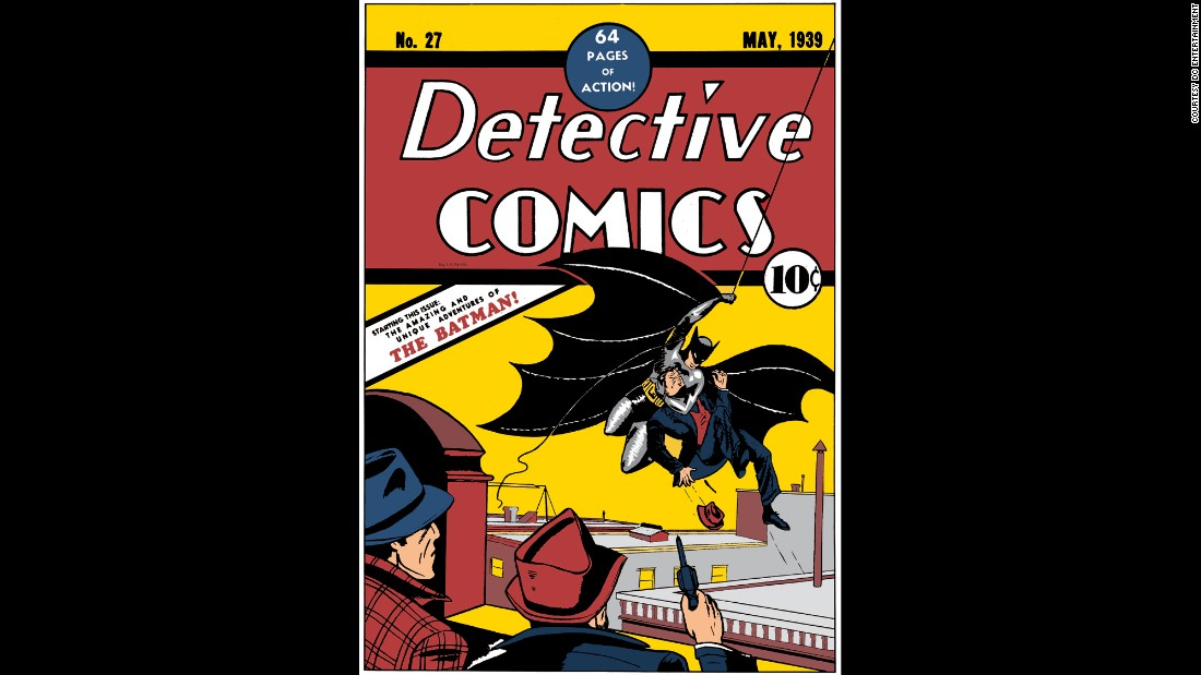 "The now-annual Batman Day falls on September 26 this year, celebrating all things Dark Knight with special events at bookstores, comic book shops and elsewhere. The character was created in 1939 by Bob Kane and Bill Finger, with his first appearance in ""Detective Comics"" No. 27. (DC Comics -- a Time Warner company, like CNN -- recently agreed to <a href=""http://www.hollywoodreporter.com/heat-vision/dc-entertainment-give-classic-batman-824572"" target=""_blank"">give Finger a co-creator credit).</a>"