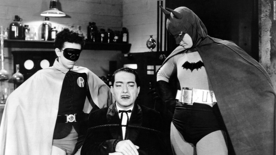 "Four years later, ""Batman"" first hit the big screen as a 15-chapter movie serial. It had a strong anti-Japanese sentiment -- with Batman and Robin fighting a Japanese spy during World War II, complete with racial slurs -- so it's far from politically correct when viewed today. Lewis Wilson and an age-appropriate 16-year-old Douglas Croft were the first actors to play  the Dynamic Duo, and the serial's portrayal of faithful butler Alfred influenced the comics. (As for Robin, he  was introduced in the comics in 1940.)"