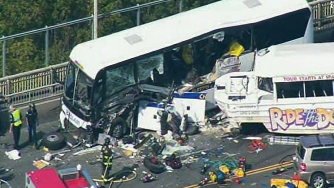 Deadly collision in Seattle