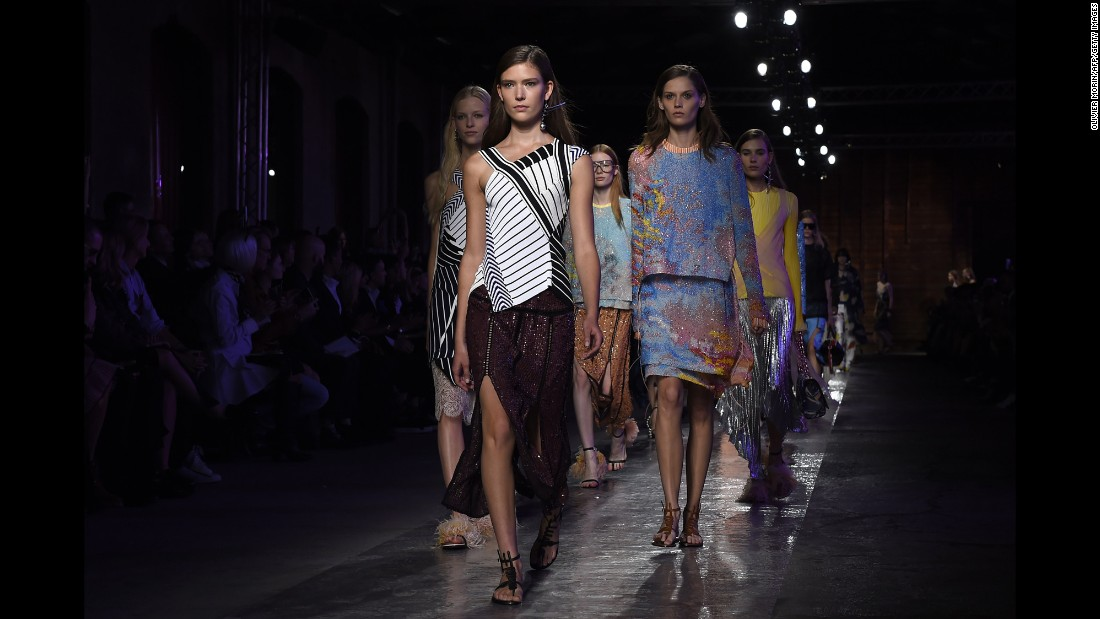 Emilio Pucci's new creative director Massimo Giorgetti brought a youthful side to the brand that was super sexy and print heavy under its last creative director, Peter Dundas.