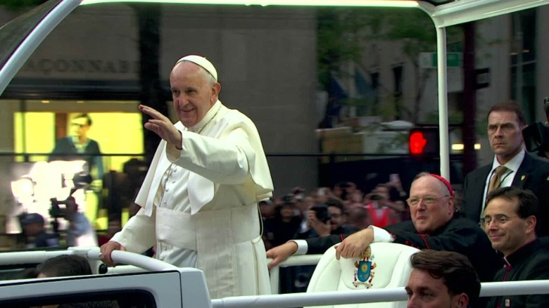 Pope Francis's busy day in the Big Apple
