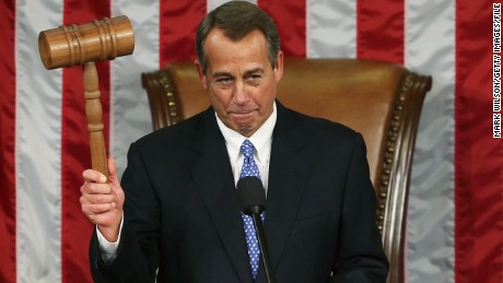 John Boehner's political career
