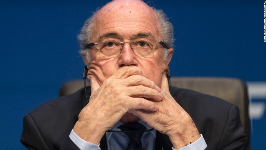 Has FIFA president Blatter spent his last day as head of football's world governing body? The 79-year-old Swiss was provisionally banned for 90 days Thursday by the adjudicatory chamber of FIFA's Ethics Committee, though the duration of the ban could be extended by 45 days.