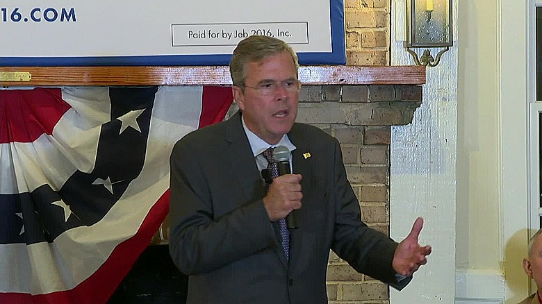 Jeb Bush implies Dems lure black voters with 'free stuff'
