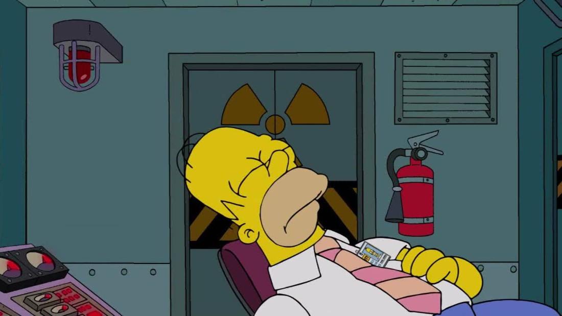 Картинка спящего гомера