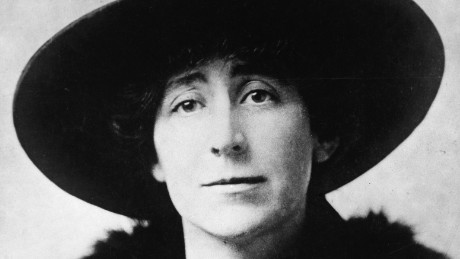 Portrait of American pacifist leader Jeannette Rankin (1880 - 1973), who in 1916 became the first female member of Congress when she was elected to the House of Representatives as a Republican from Montana, 1910s. Rankin was the only member of Congress to vote against US entry in both World War I and World War II and was an active leader in the antiwar movement during the Korean War and the Vietnam War. (Photo by FPG/Getty Images)