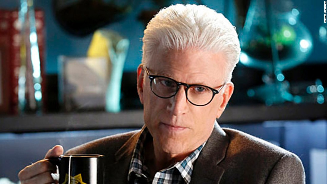 "When Fishburne left, the role of ""CSI"" team leader was taken over by Ted Danson as D.B. Russell, a trained botanist. Danson, of course, is best known for his long run on ""Cheers"" but also has appeared in ""Curb Your Enthusiasm,"" ""Damages"" and ""Bored to Death."""