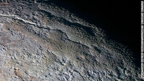 Pluto on the horizon