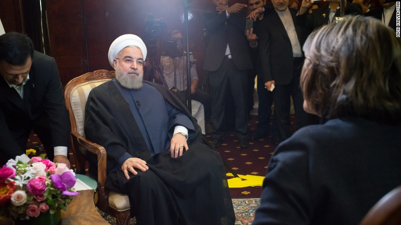 Rouhani: 'Everyone has accepted' Assad must stay for now