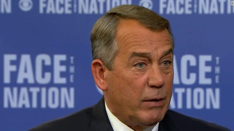 Boehner: 2013 shutdown strategy 'never had a chance'