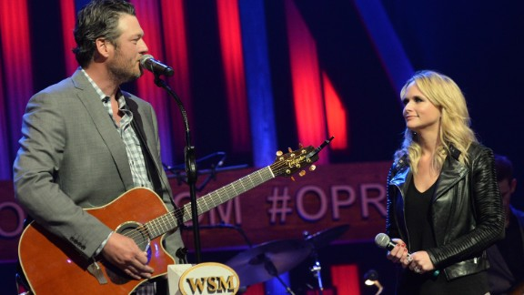 "Country stars Blake Shelton and Miranda Lambert stunned fans when they announced in July that they were divorcing after four years of marriage. There was much sadness on social media over the split. She married police officer Brendan McLoughlin in 2019 and Shelton has been dating singer and fellow ""The Voice"" coach Gwen Stefani since 2015."