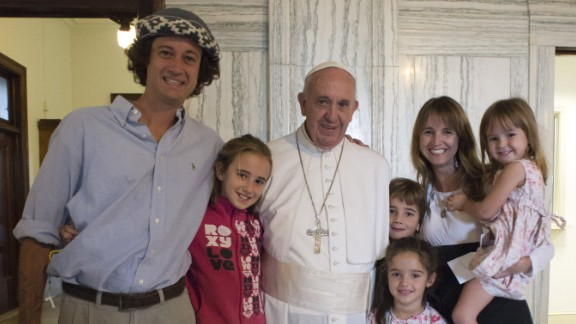 Never in their wildest dreams did the Walker family think their 13,000-mile journey would culminate in a meeting with the Pope. But that's what happened in Philadelphia after the Vatican called.