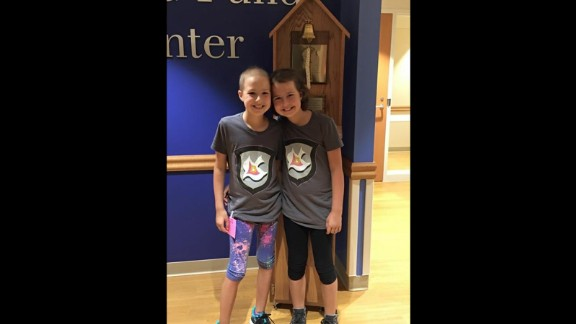 "On August 30, 2015, Lily ended her treatments at Children's Hospital of Wisconsin. The tradition is to ring a bell, signifying the conclusion. Dove says that this day was ""a mix of emotions"" because it was supposed to be the end, but instead, the roller coaster continued -- Bailey's leukemia was diagnosed in March 2015."
