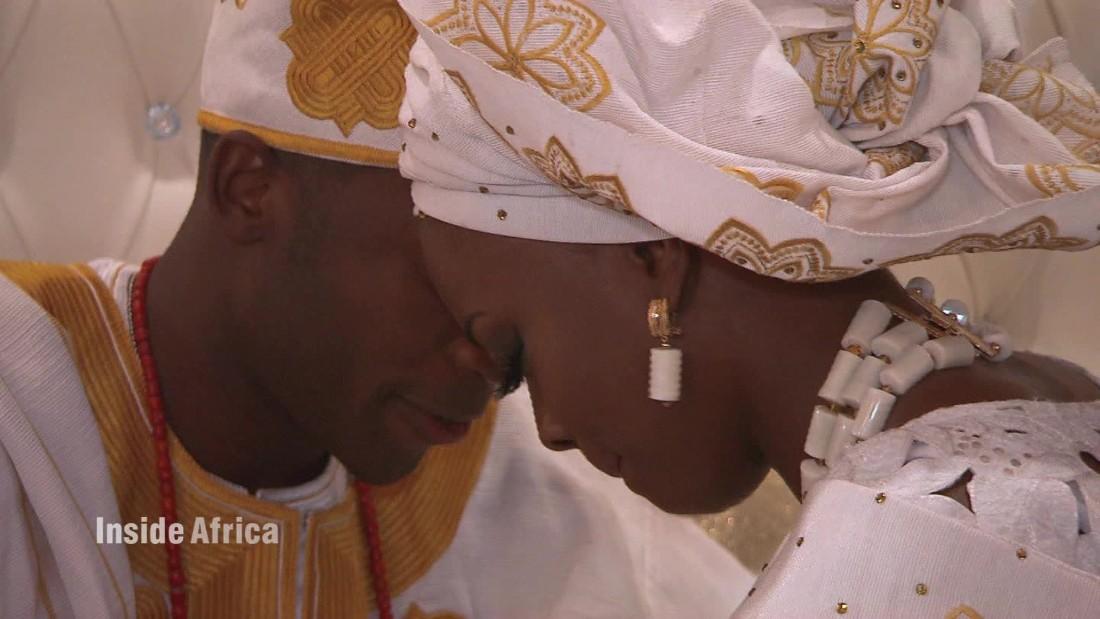 The magic of a Nigerian wedding in Houston - CNN Video