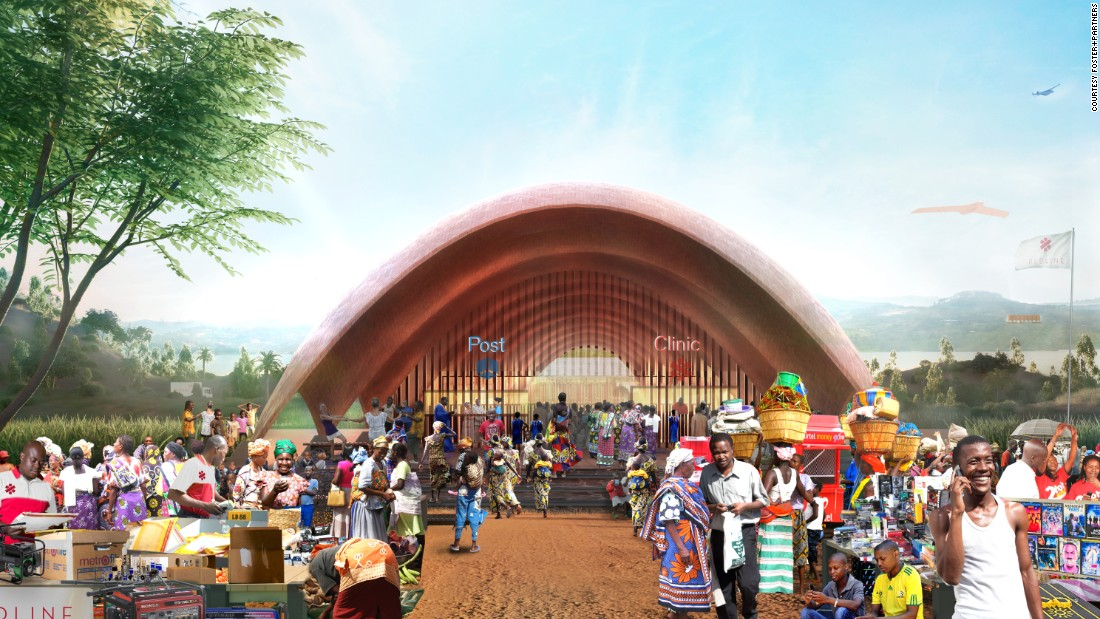 """Rwanda's challenging geographical and social landscape makes it an ideal test-bed for the Droneport project,"" said Norman Foster while presenting the initiative, which he reckons could have ""a massive impact through the century and save lives immediately.""<br />"