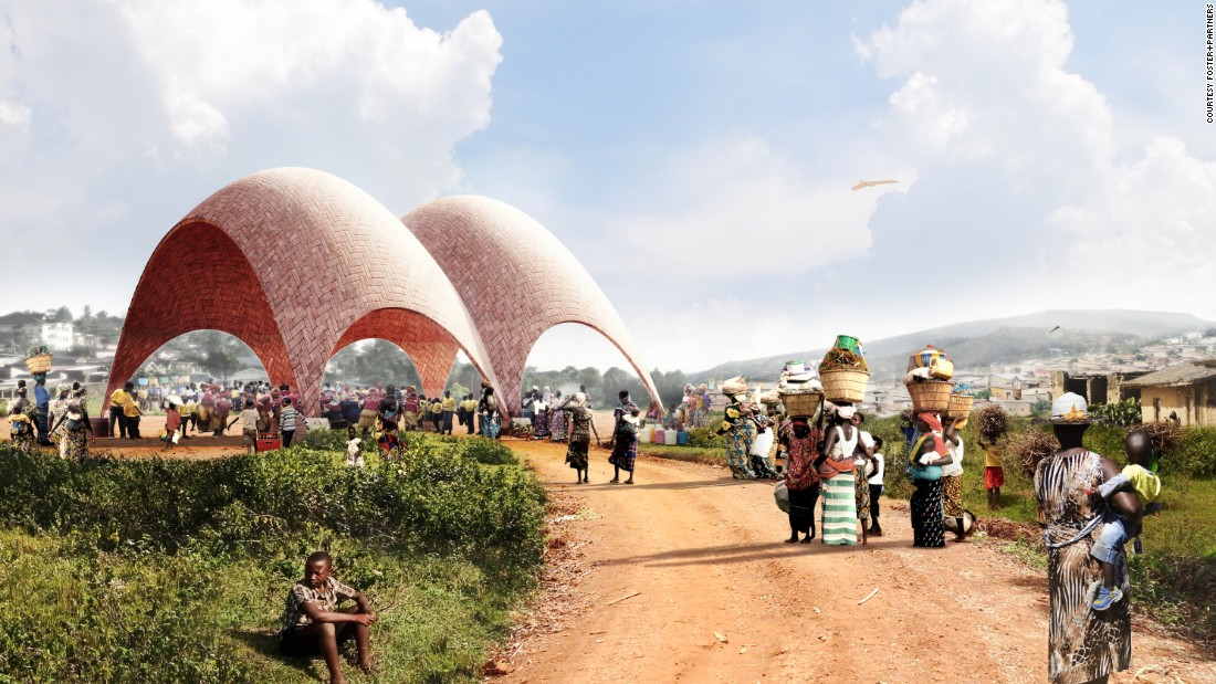 "In 2016, British architect Norman Foster designed the world's first <a href=""https://edition.cnn.com/style/gallery/rwanda-droneport-foster-epfl/index.html"" target=""_blank"">""airport for drones""</a> in Rwanda.<br />"