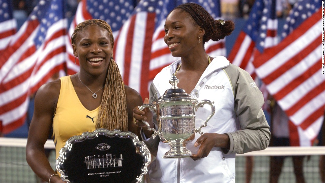 Williams has won the U.S. Open twice. In 2001 she overcame her sister, Serena, to win the title for the second year in succession.