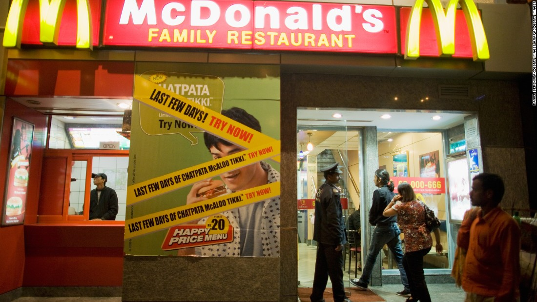 Many deluxe brands have space in Khan Market, as do famous western fast food chains.