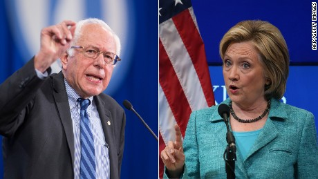 Clinton and Sanders on gun laws, Syria