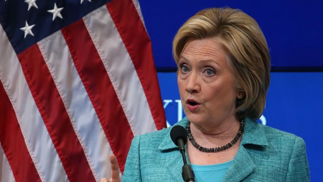 Hillary >> Hillary Clinton: End Obamacare tax on top health plans - CNNPolitics