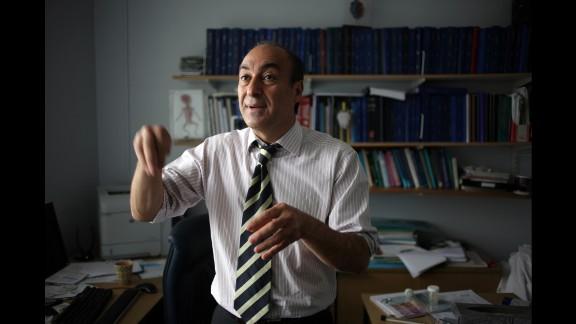 Seifalian leads University College London's Department of Nanotechnology and Regenerative Medicine.