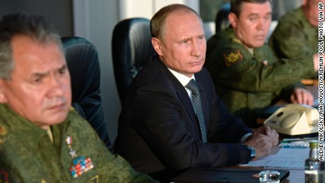 Russia 'sent ground troops'