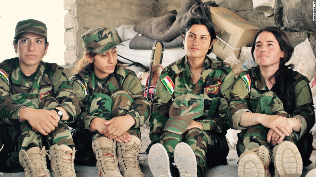 Noura, Adlah, Basma and Maha are four young Yazidi girls looking to join the Peshmerga to fight against ISIS. All of them say they want to protect the honor of their family and want to fight against ISIS abuse.