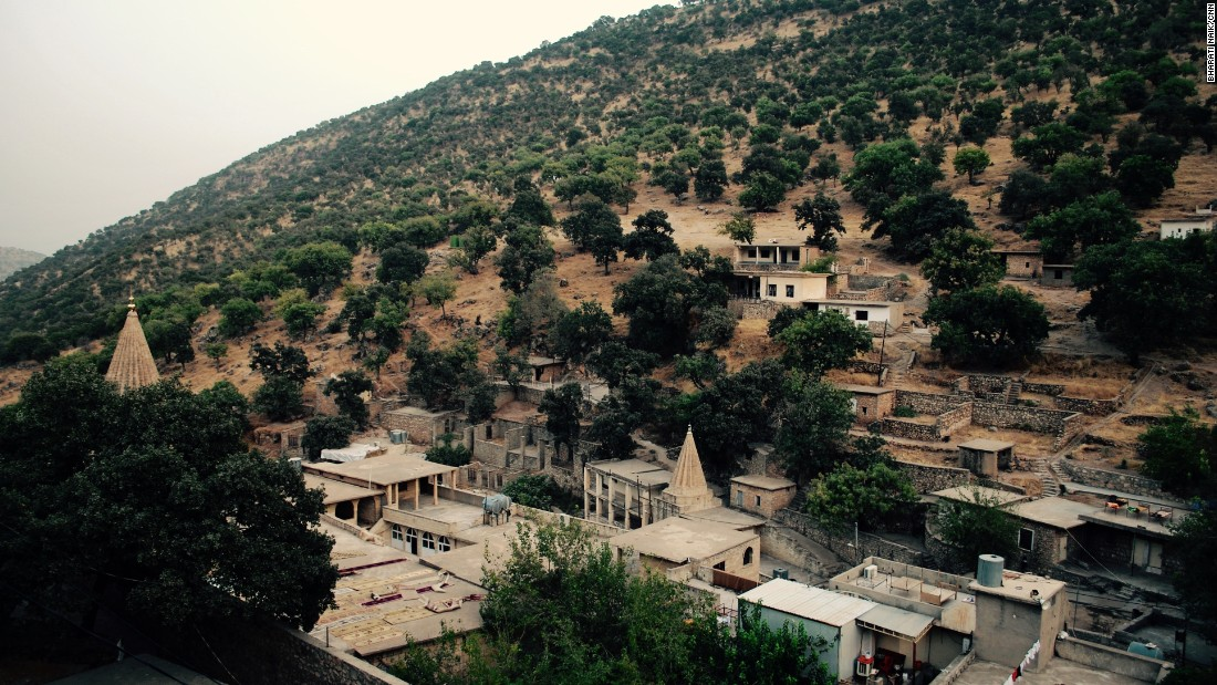 Lalish, in northern Iraq's Nineveh Province, is the spiritual heartland for Yazidis.