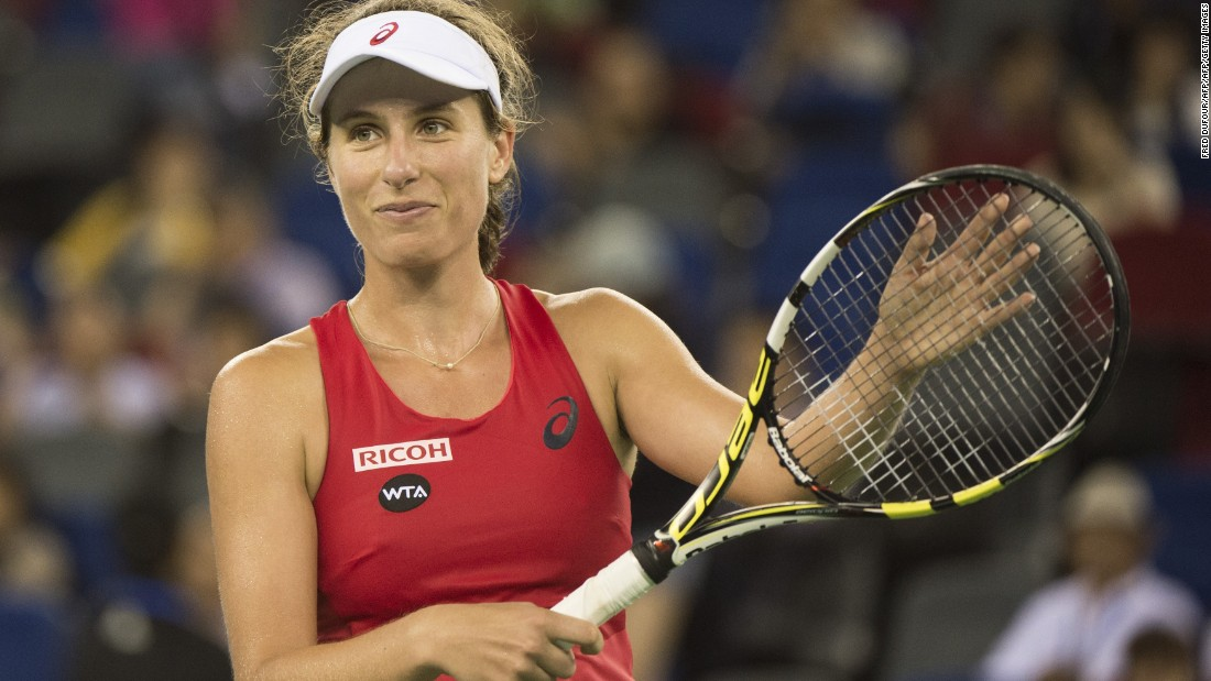 Is Johanna Konta the next big thing in women's tennis? The 24-year-old has won 20 of her past 21 matches and is into the last-16 of the Wuhan Open after shocking World No.2 Simona Halep.