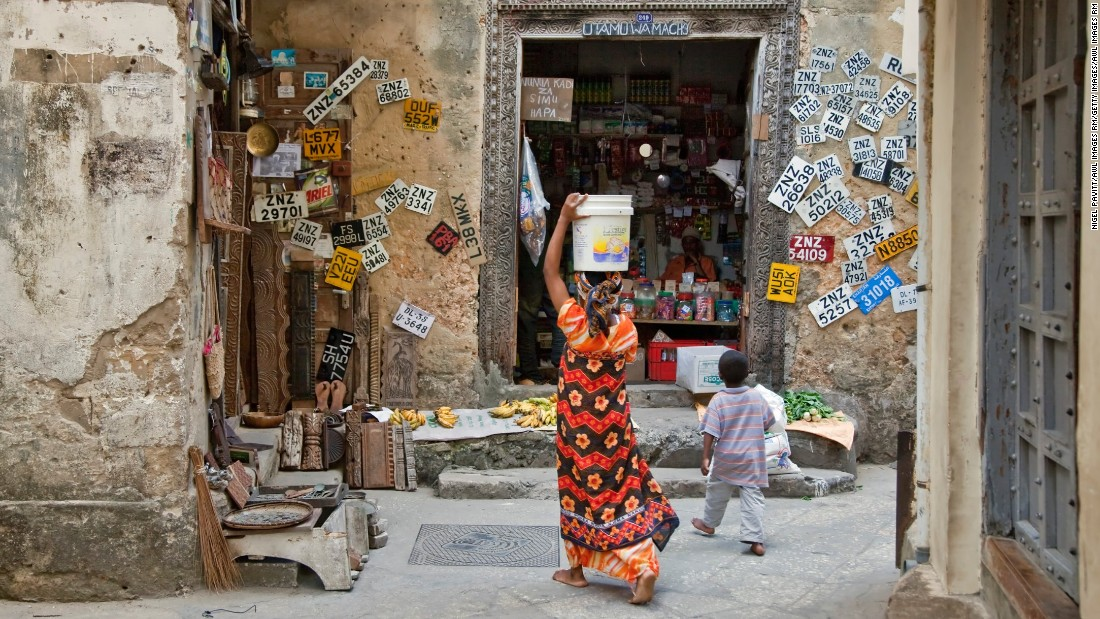 The rustic labyrinthine alleys of Zanzibar's Stone Town hold within them centuries of this multicultural island's history. Walk the streets to find Persian bathhouses, coffee shops and frenetic bazaars.