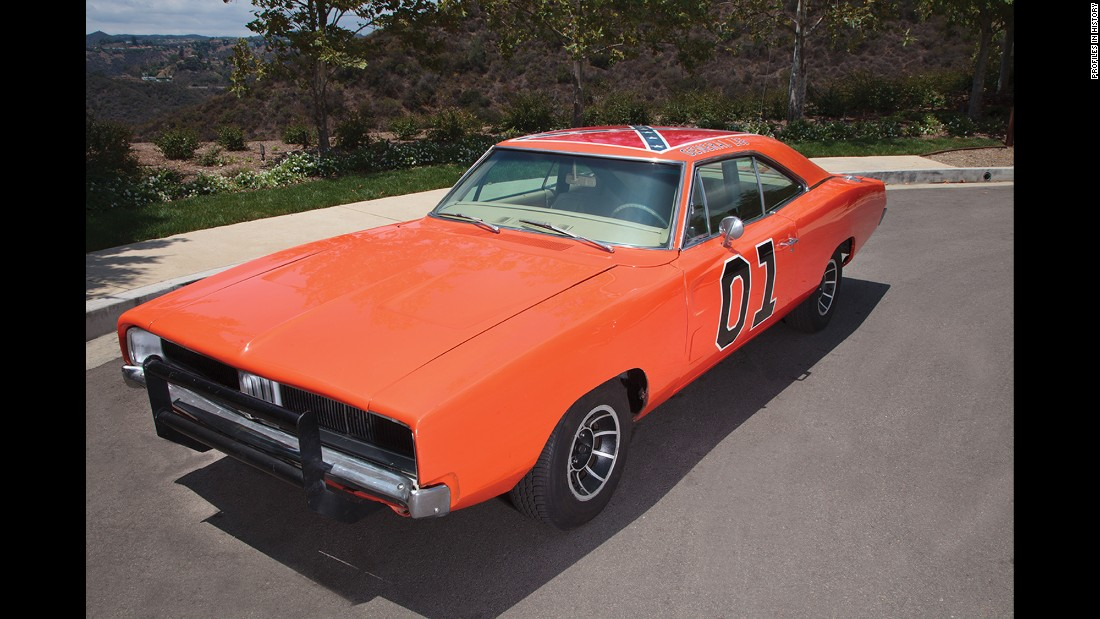 "The General Lee -- one of the most iconic (and <a href=""http://money.cnn.com/2015/06/23/media/dukes-of-hazzard-confederate-flag/"">controversial) </a>cars in TV history -- is from ""The Dukes of Hazzard."""