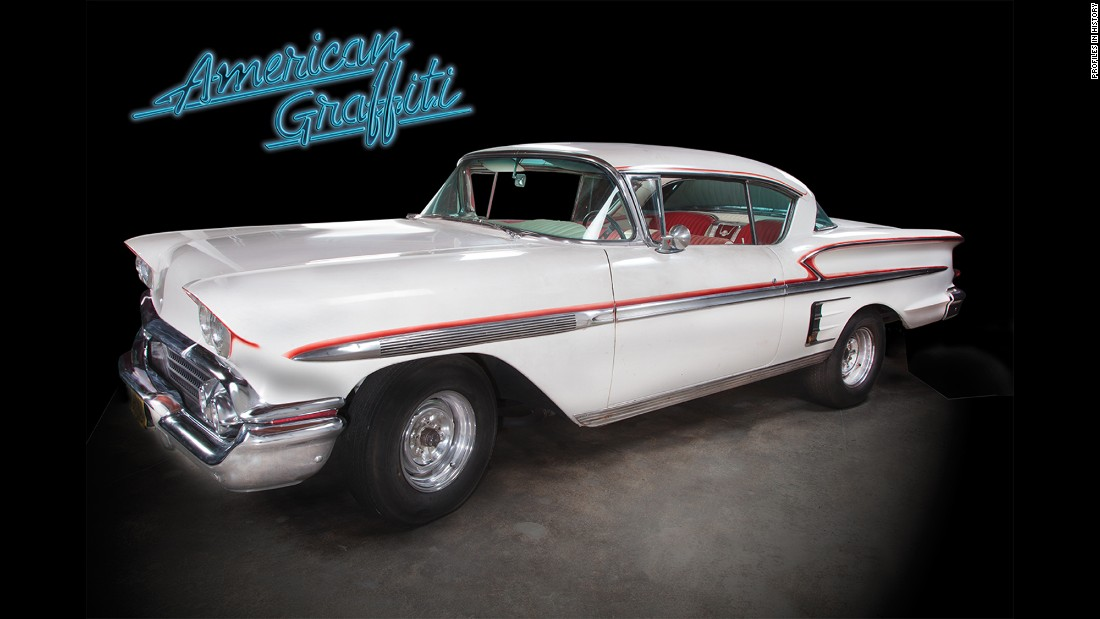 "This 1958 Chevrolet Impala was seen in another George Lucas project, ""American Graffiti."""