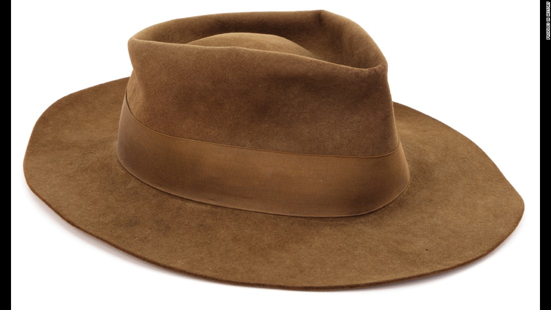 You guessed it: This is Indy's hat as well.