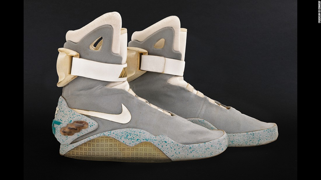 "It's 2015 and high time you owned these self-lacing shoes from ""Back to the Future Part II."""