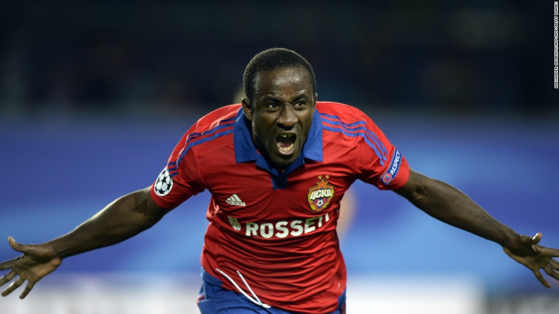 Seydou Doumbia scored twice as CSKA Moscow overcame PSV Eindhoven 3-2. The Russian side led 3-0 inside 36 minutes before the visitors launched a comeback. Maxime Lestienne scored twice after the break but the home side held on.