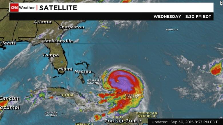 hurricane joaquin poised to hit bahamas cnn