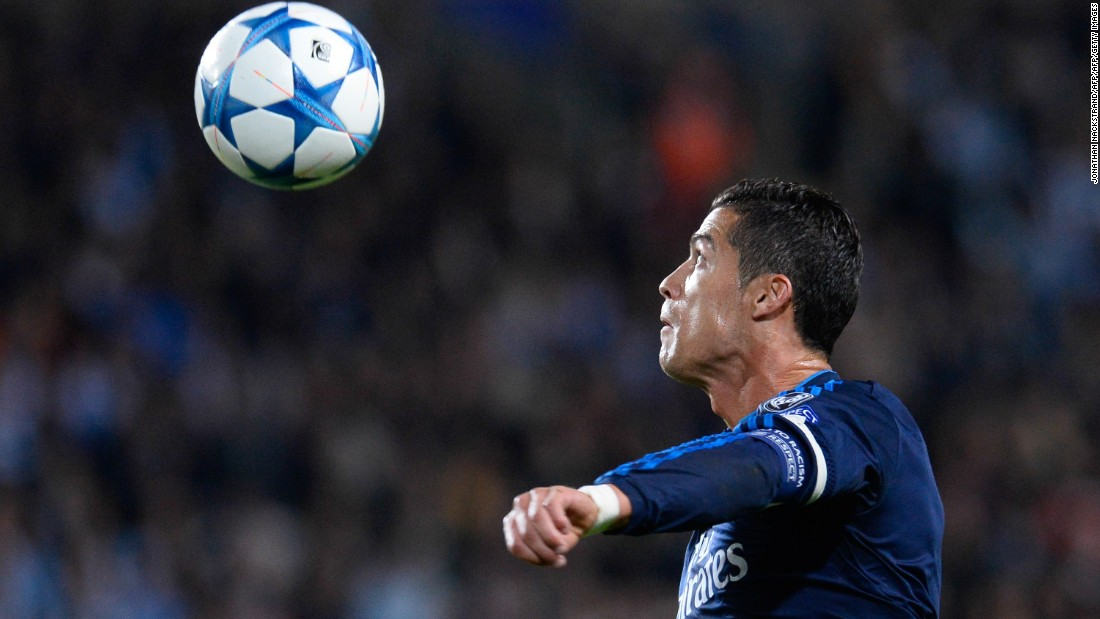 Ronaldo's double took his tally for Real to 323 -- drawing him level with club legend Raul. . He scored 188 for Manchester United, five for Sporting Clube de Portugal and has 55 for the Portuguese national team.