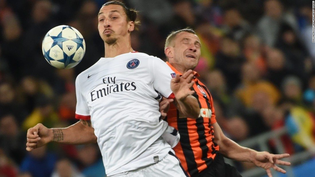 Paris Saint-Germain cruised to a 3-0 win over Ukrainian side Shakhtar Donetsk. Serge Aurier and David Luiz were both on target while Dario Srjna's own goal gave the French side a third.