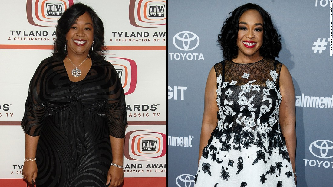 "Shonda Rhimes, creator and producer of such hit shows as ""Grey's Anatomy,"" ""Scandal"" and ""How to Get Away with Murder,"" has undergone quite a transformation. She credits diet and exercise for her loss of more than 100 pounds."