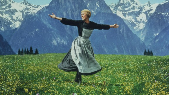 Andrews plays the iconic Maria von Trapp in 1965