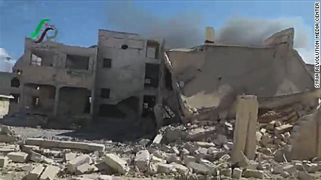 Russia new airstrikes in Syria starr lkl_00004815
