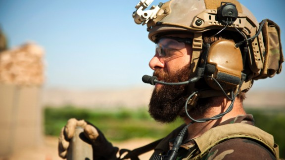 10. They can grow beards  In this photo, a Marine Special Operations team member provides overwatch for Afghan National Army Special Forces to help Afghan Local Police build a checkpoint in Helmand province, Afghanistan, in April 2013.