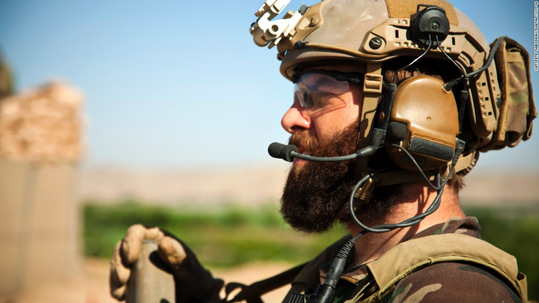 <strong>10. They can grow beards</strong><br /><br />In this photo, a Marine Special Operations team member provides overwatch for Afghan National Army Special Forces to help Afghan Local Police build a checkpoint in Helmand province, Afghanistan, in April 2013.