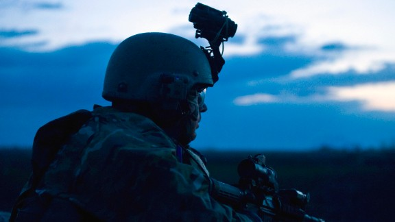 6. They were created by Congress  In this photo, a U.S. Army military information support operations sergeant with Special Operations Task Force-South provides security overwatch during the early morning hours of an operation to hinder insurgent activity in Kandahar Province, Afghanistan, in 2011.