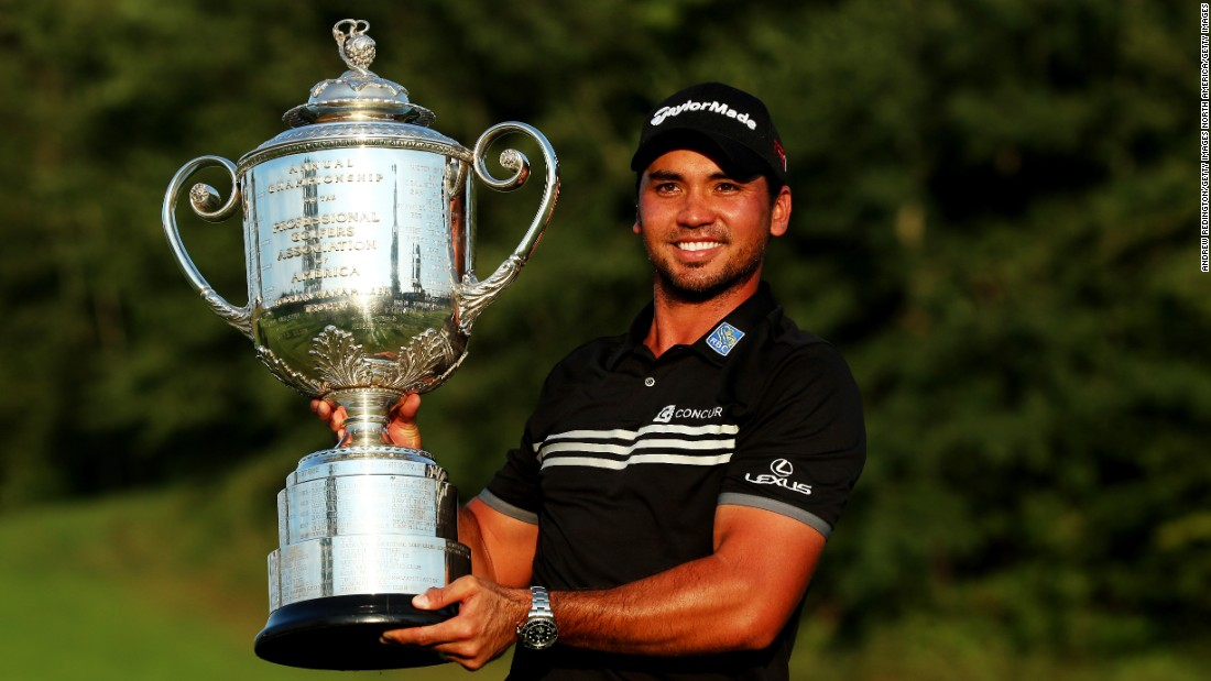 Day won his first major at at the PGA Championship in August.