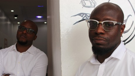SuperGeeks co-founders Edmund Olutu and Sam Uduma began their start-up in 2014 after spotting a niche in the tech repairs market.