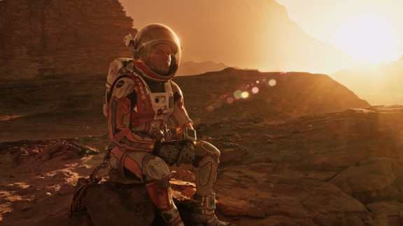 """Both """"The Martian"""" and its star Matt Damon were nominated for Academy Awards."""