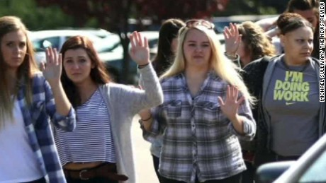 Oregon shooting eyewitness: 'We just started running'