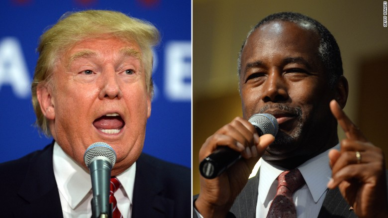 Carson and Trump battle for evangelicals